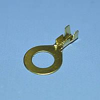 Клемма кольцевая d8мм латунная 1.0-1.5кв.мм