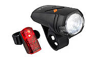 Axa Green Line 30 передний свет + 2 LED задний фонарь осветительный комплект с StVZO