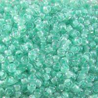 Бисер 38653 Preсiosa (Чехия) светло-бирюзовый глазурь прокрашенный 25г