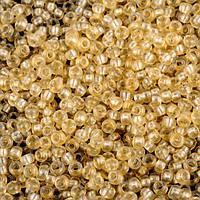 Бисер 08192 матт Preсiosa (Чехия) (замена 38292) светло-персиковый блестящий матовый 25г
