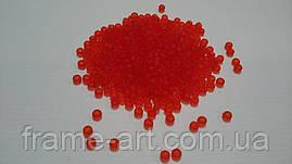Тохо Япония 4гр 0005F ярко-красный прозрачный матовый