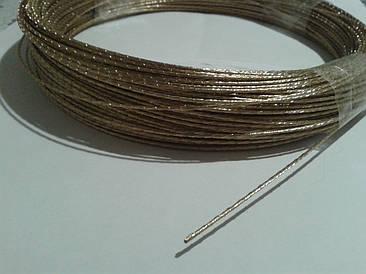 Трос стальной латунированный 1,5 мм
