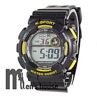 Бюджетные часы Lasika W-H9001 Black/Yelloy