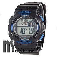 Бюджетные часы Lasika W-H9001 Black/Blue