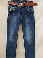 Детские джинсы,потертые 86-174