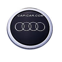 Колпачки для литых дисков Audi 4B0601170A (70/58) черные
