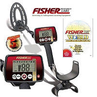 Металлоискатель Fisher F22, глубинный металлоискатель, металлодетектор, металлоискатель фишер fisher