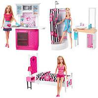 Набор с куклой Barbie Роскошный интерьер