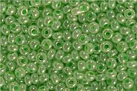 Бісер 37154 Preciosa (Чехія) світло-салатовий перловий 25г