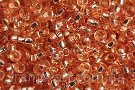 Бисер 78184 Preсiosa (Чехия) темно-персиковый блестящий 25г