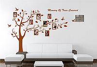 """Наклейка на стену, виниловые наклейки, украшения стены наклейки  """"Фото дерево большое 1м80см*2м50см"""""""
