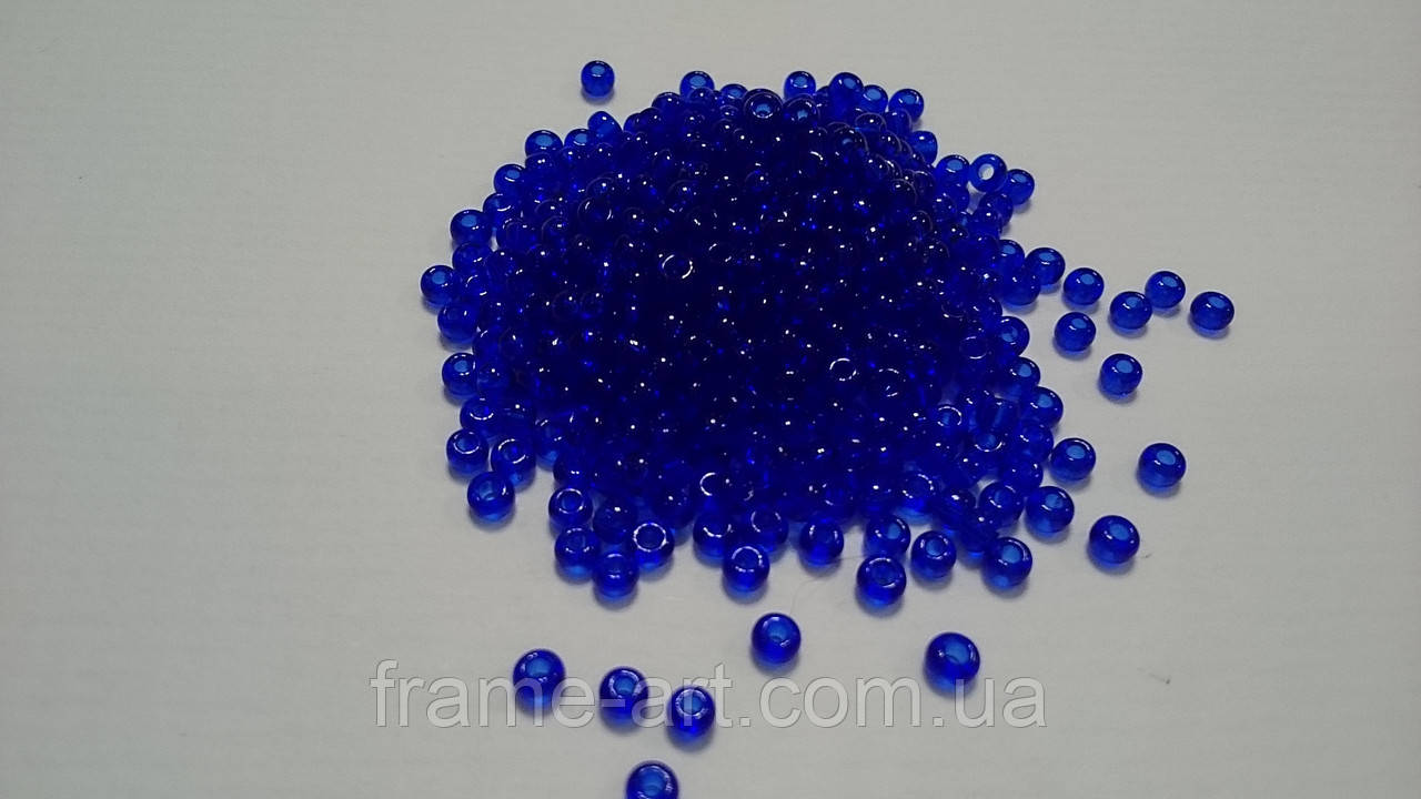 Тохо Япония 4гр 0008 темно синий прозрачный