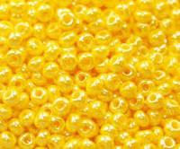 Бисер 16383 Preciosa (Чехия) желтый натуральный 25г