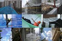 Сетка страховочная / защитно-улавливающая сетка д-р.шн.5мм (ЗУС) для строек