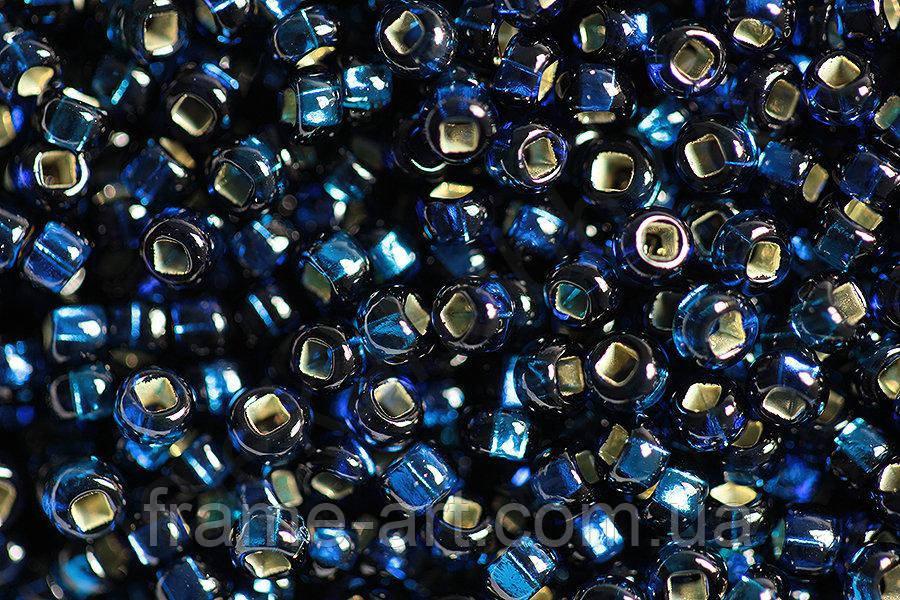 Бисер 67100 Preсiosa (Чехия) темно-синий блестящий 25г 5f4e010060c1a