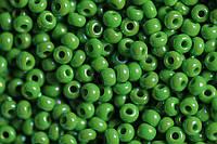 Бисер 54230 Preсiosa (Чехия) зеленный жемчужный радужный 25г