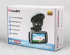 Купить автомобильный видео регистратор iconBIT FullHD1080p Car DVR FHD QX1