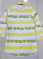 Рубашка платье женское Поло бренд желтое в Одессе