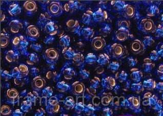 Бісер 67300 (10328) Ргесіоѕа (Чехія) синій блискучий 25г