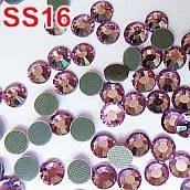 Стразы DMC, Lt. Amethyst (лайт аместист) SS16 термоклеевые. Цена указана за 144 шт.