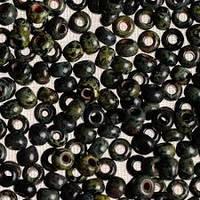 Бісер 29980 Ргесіоѕа (Чехія) чорний мармур 25г