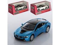 Машинка металлическая инерционная BMW I8 KT 5379 W Kinsmart