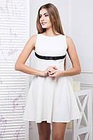 Легкое платье с пышной юбкой Каприз в 3х цветах