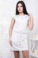 Легкое ажурное платье Паутинка в 3х цветах