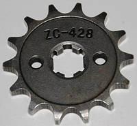 Звезда двигателя 428*13-зубов мопеда дельта
