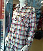 Платье - рубашка в клетку женское POLO в Одессе