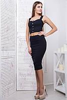 Молодежный женский костюм Эксклюзив в 2х цветах, фото 1