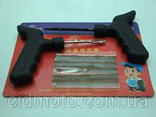 Ремкомплект бескамерной шины (5 шнуров +2 инструмента)