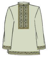 Сорочка мужская ТПК-202 р.50 (длин. рукав) лен
