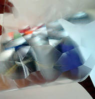 """Пленка 4d прозрачная с эффектом """"водный куб"""" с микроканалами"""