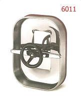Люк нержавеющий прямоугольный (Лаз) 310х420mm