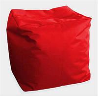 Пуф детский Куб красный
