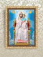 ArtSolo VIA 3005 Богородиця на престолі. Всецариця, схема під бісер