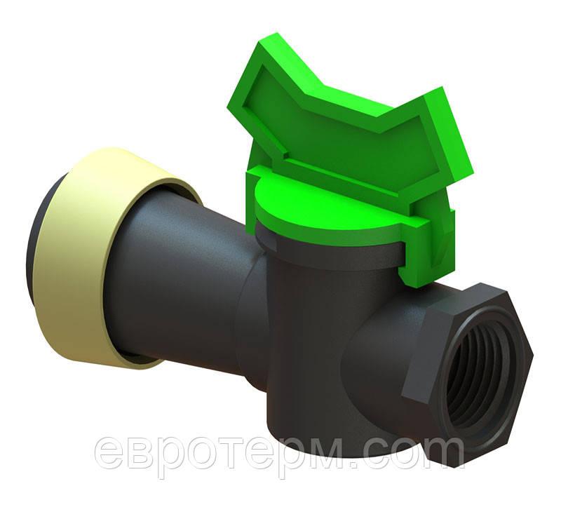 Кран мини туман д.50 с ВР 1/2 (шт.)