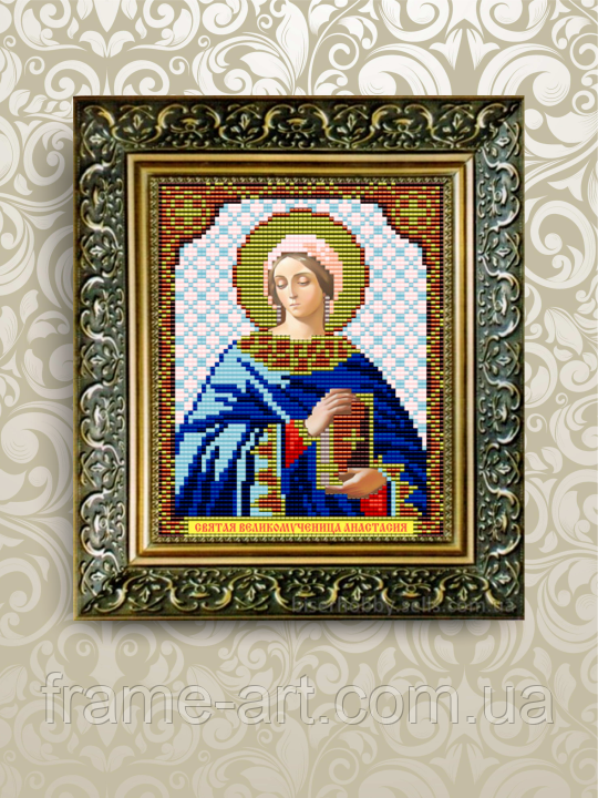ArtSolo VIA 5021 Св. Св. Мц. Анастасия, схема под бисер