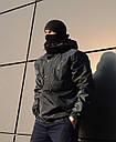 Анорак мужской темно-синий ТУР STALKER, фото 4