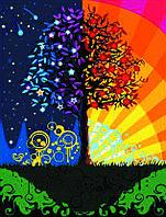 Рисование по номерам Дерево счастья