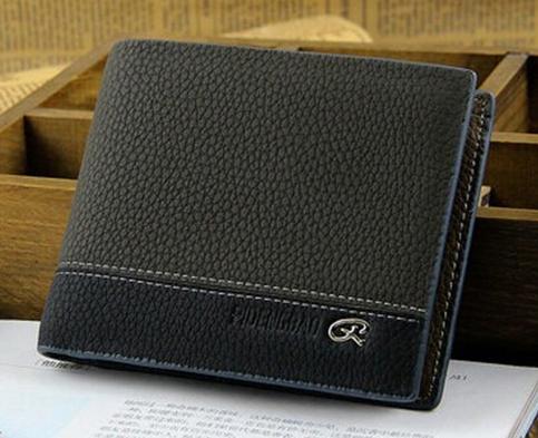 Чоловічий гаманець портмоне Pidengbao Grey