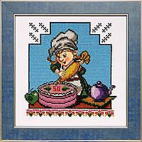 БС Солес ВК-09 Веселая кухня, схема под бисер