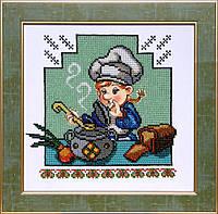 БС Солес ВК-08 Веселая кухня, схема под бисер