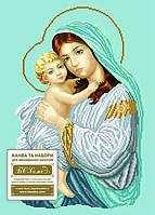 БС Солес МДБ Мадонна с дитям (благодать), схема под бисер