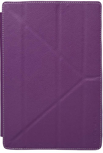 Стильный чехол для планшета с диагональю 9.7 на липучке Continent Universal UTS-101VT фиолетовый