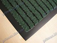 Ковер грязезащитный Полоска без вкраплений, 40х60см., зеленый