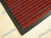 Ковер грязезащитный Полоска без вкраплений, 90х150см., красный