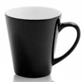 Чашка сублимационная чёрная - хамелеон Latte