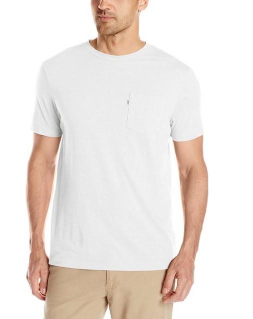Мужская футболка Levis Pocket - White (XL)